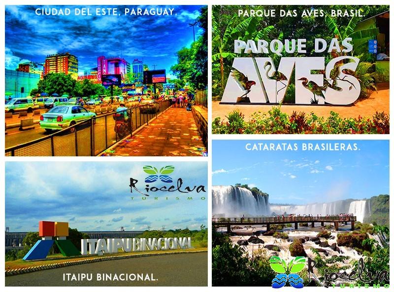Traslados a Brasil + Itaipu + Paraguay
